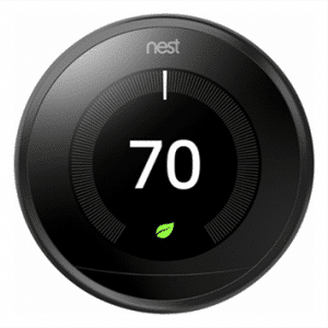 black nest thermostat